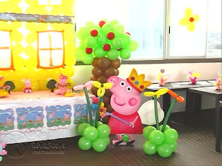 DECORACION PEPPA PIG RECREACIONISTAS MEDELLIN 5