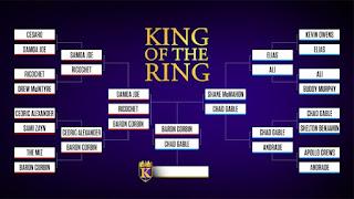 WWE King of the Ring 2019 Bracket