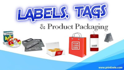 Custom Labels, Tags & Product Packaging