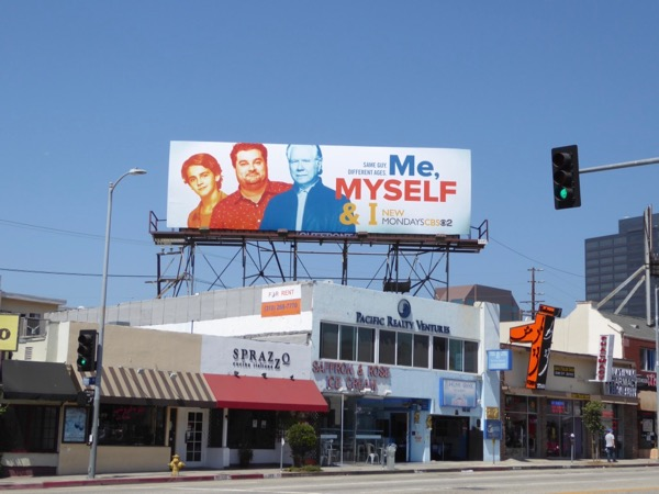 Me Myself I CBS series billboard