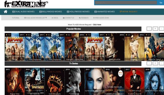 extramovies 2020 – Download Latest Hollywood, South, Bollywood movies download