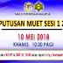 Semakan Keputusan Peperiksaan MUET Mac Sesi 1 2018 Secara Online Dan Sms