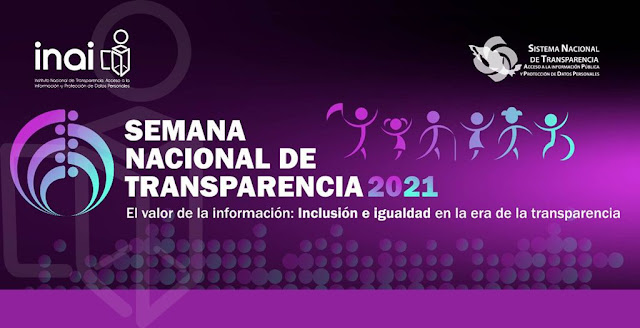 Alista INAI Semana Nacional de Transparencia 2021