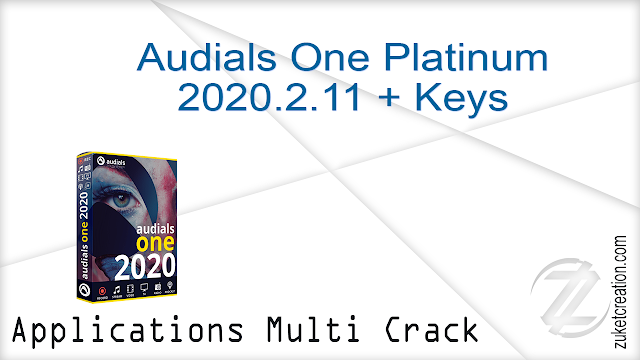 Audials One Platinum 2020.2.11 + Keys