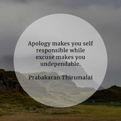 Apology quotes that will inspire you to say I'm sorry