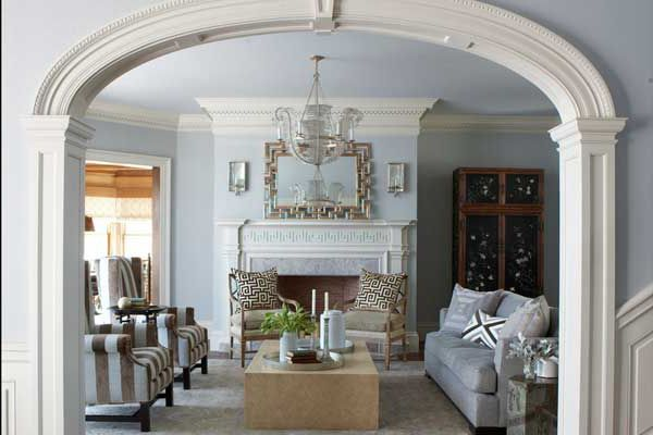 20 Traditional Living Room Entrance Maximize Space ...