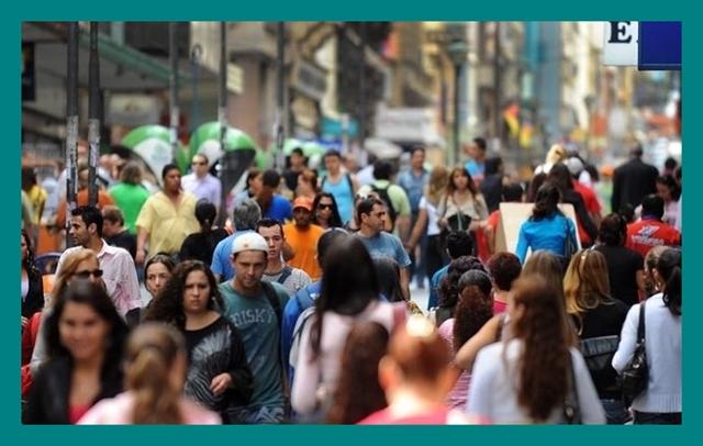 Segundo censo, a população brasileira em 2018 somava um contingente de 208,4 milhões