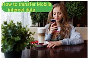 Mobile Data share (transfer ) कैसे करें Airtel , Idea, vodafone, jio online