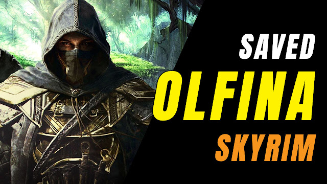 Elder Scrolls V: Skyrim! Killed Bandit Leader And Saved Olfina!