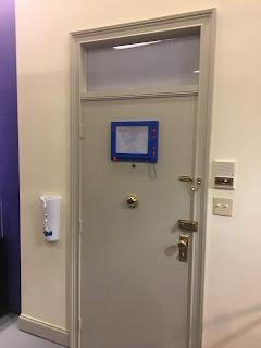 Joey and Chandler Door Friends Pop Up Experience Photo Op