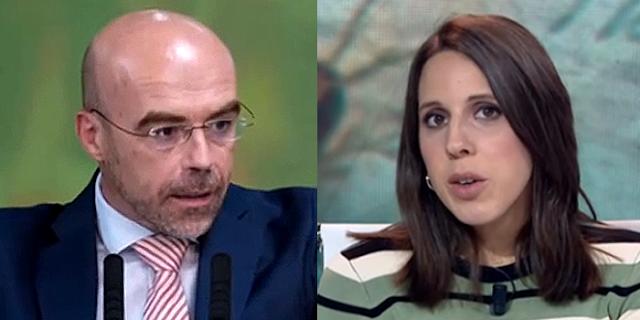 Jorge Buxadé y Paloma Esteban