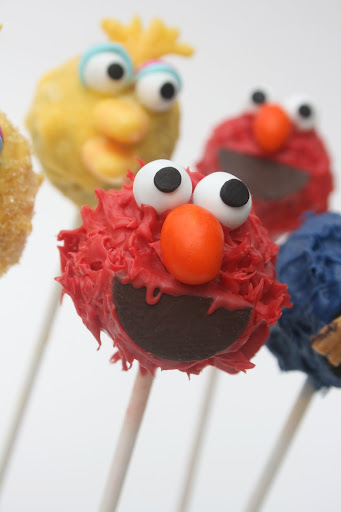 And Everything Sweet Sesame Street Cake Pops