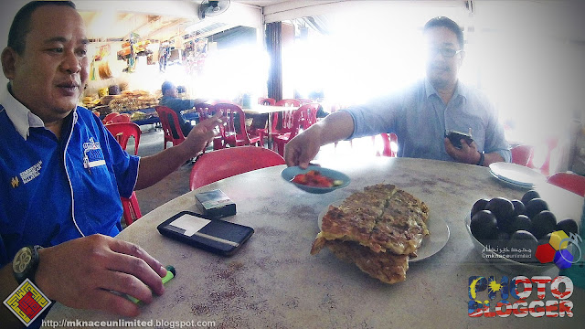 KL GM1M4VLE Getaway : Murtabak Singapore, Ayer Hitam, Johor