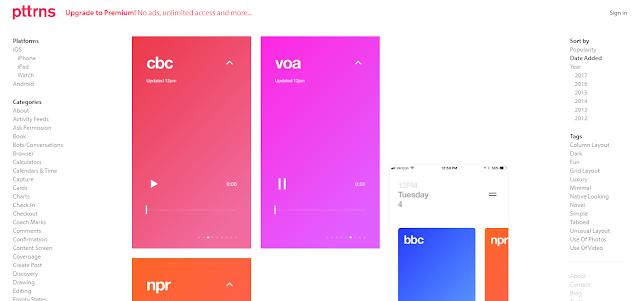 Pttrns - Tools Desain untuk UX/UI Designers (Part I)
