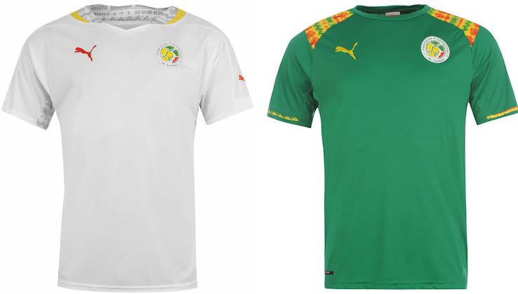 836e58e4d90 Senegal 2014 Home and Away Kits Released - Footy Headlines