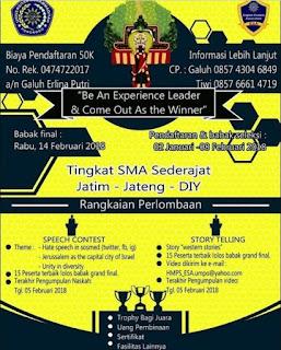 English Fest & Competition SMA Sederajat 2018 by Univ. Muhammadiyah Ponorogo