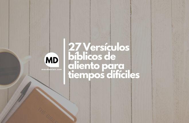 Versículos bíblicos de aliento