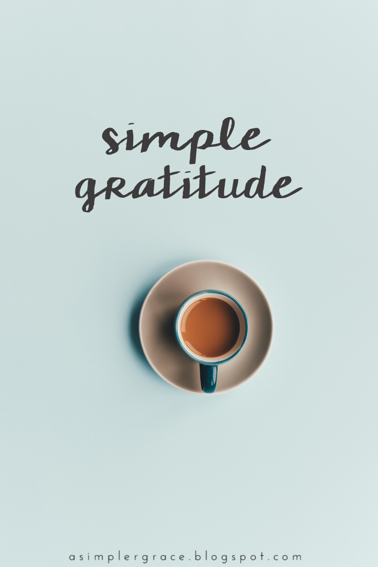 A weekly series focusing on practicing gratitude.