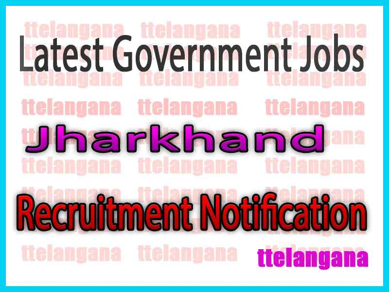 Latest Jharkhand Government Job Notifications