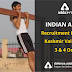 Indian Army recruitment Drive in Kashmir Valley on 3 and 4 Oct: 2780 Vacancies