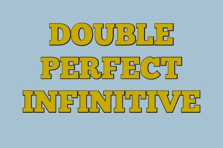 THE PERFECT INFINITIVE is used with WOULD LIKE/LOVE/PREFER and one or two other verbs to refer to unreal past situations