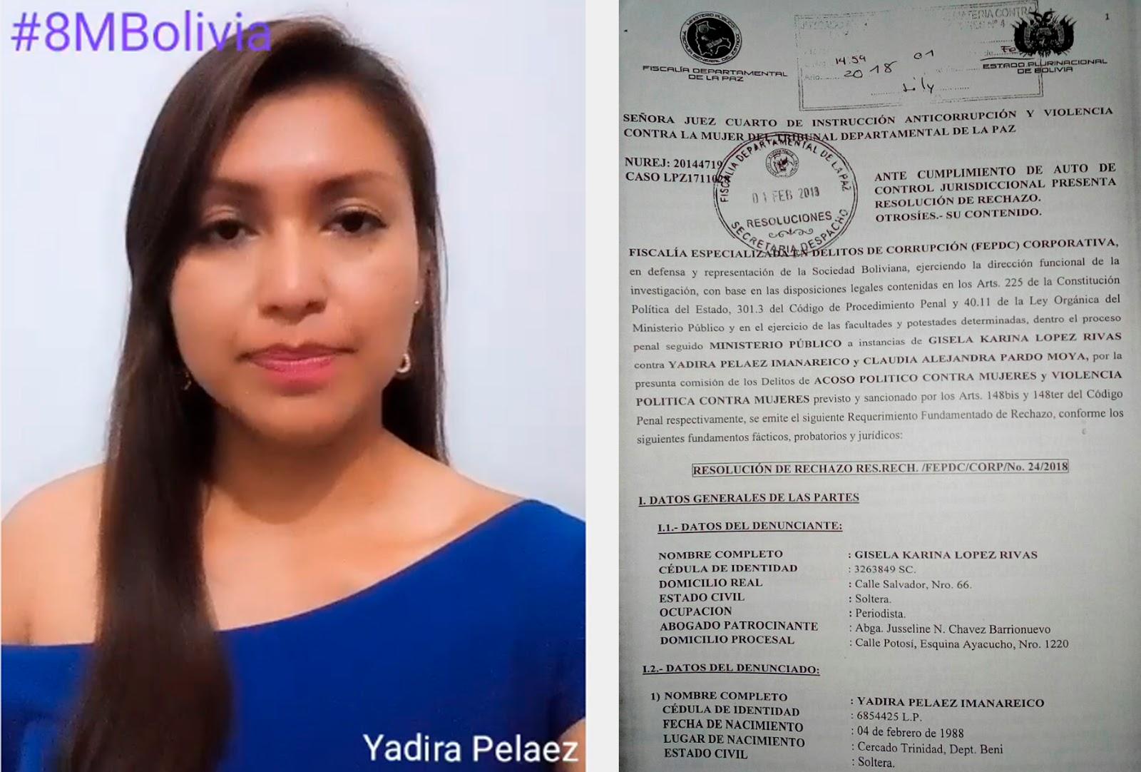 Peláez se libró de un proceso interpuesto por una ministra de Estado /  CAPTURA CABILDEO