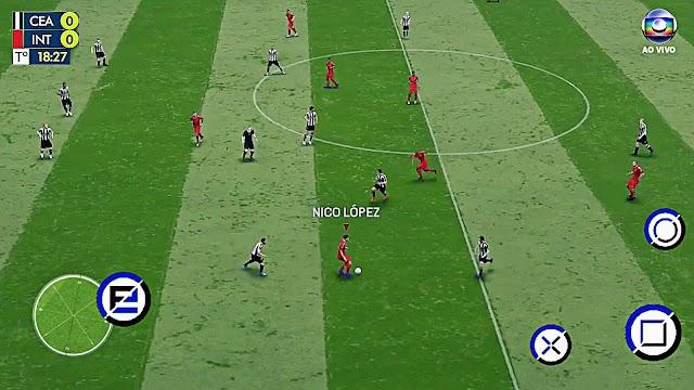 Jogo de futebol offline - fts 19 android 282MB