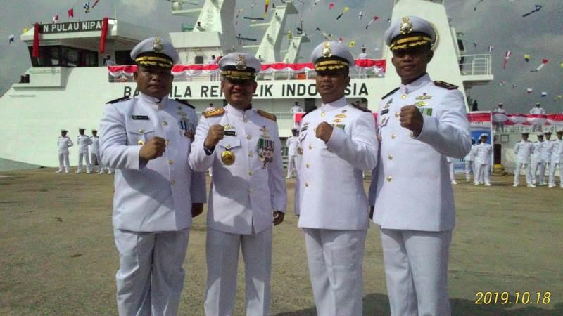 Letkol Bakamla Andris Simaremare Pimpin KN Pulau Nipah-321 Wilayah Perairan Batam