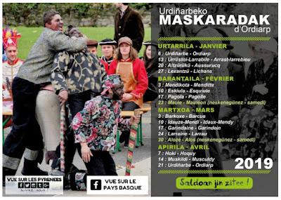 Mascarades en Soule !