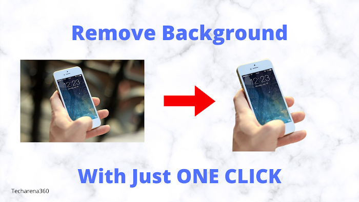 How to remove background of any photo in one click