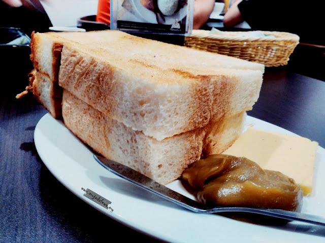 papparich kota bharu, roti bakar dengan kaya, papparich kelantan