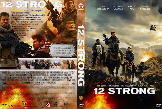 12 Strong DVD Cover