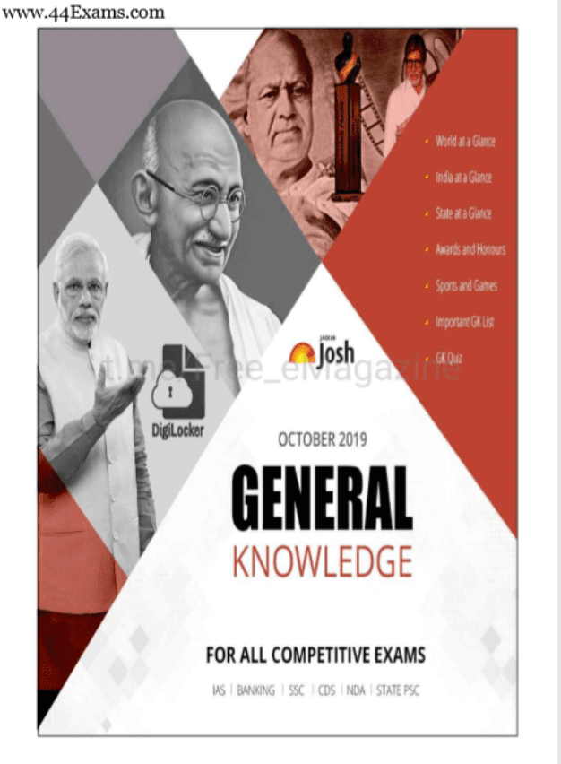 Jagran-Josh-General-Knowledge-October-2019-For-All-Competitive-Exam-PDF-Book