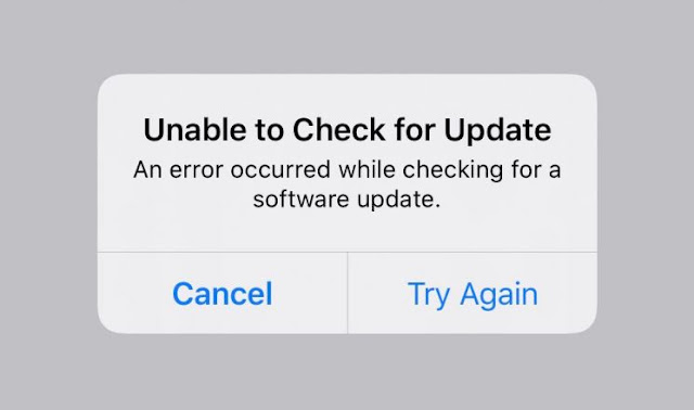 """Khắc phục lỗi """"Unable to Check for Update""""trên iPhone hoặc iPad"""