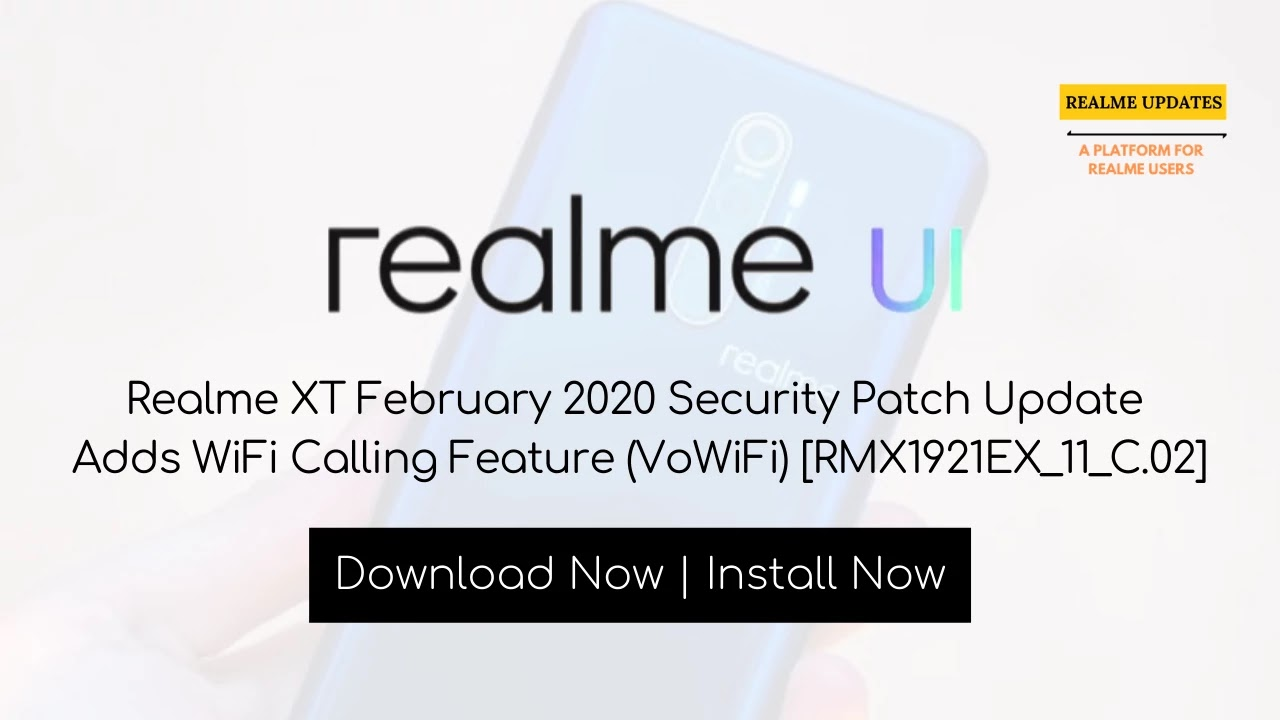 Realme Devices February 2020 Update, Find Your Device [Updated] - Realme Updates