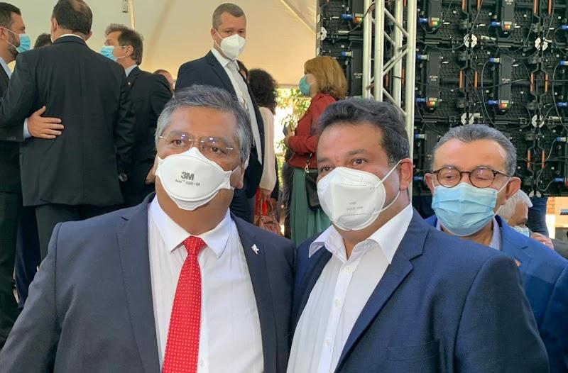 Adelmo Soares prestigia ato de filiação de Flávio Dino ao PSB