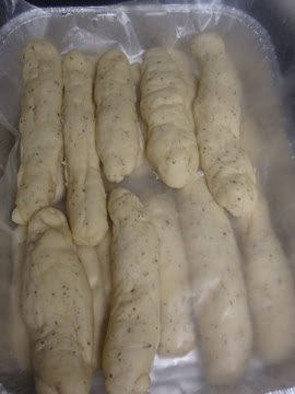 These Italian Breadsticks in the Bread Machine were not only tasty, but they were super easy because the bread machine does all the work.