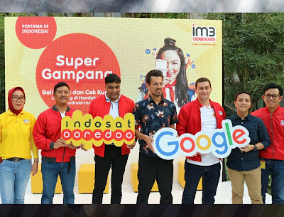 kerjasama google dan indosat ooredoo untuk mobile data plan