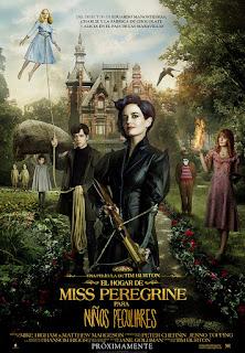 Miss Peregrine y los Niños Peculiares, Tim Burton.