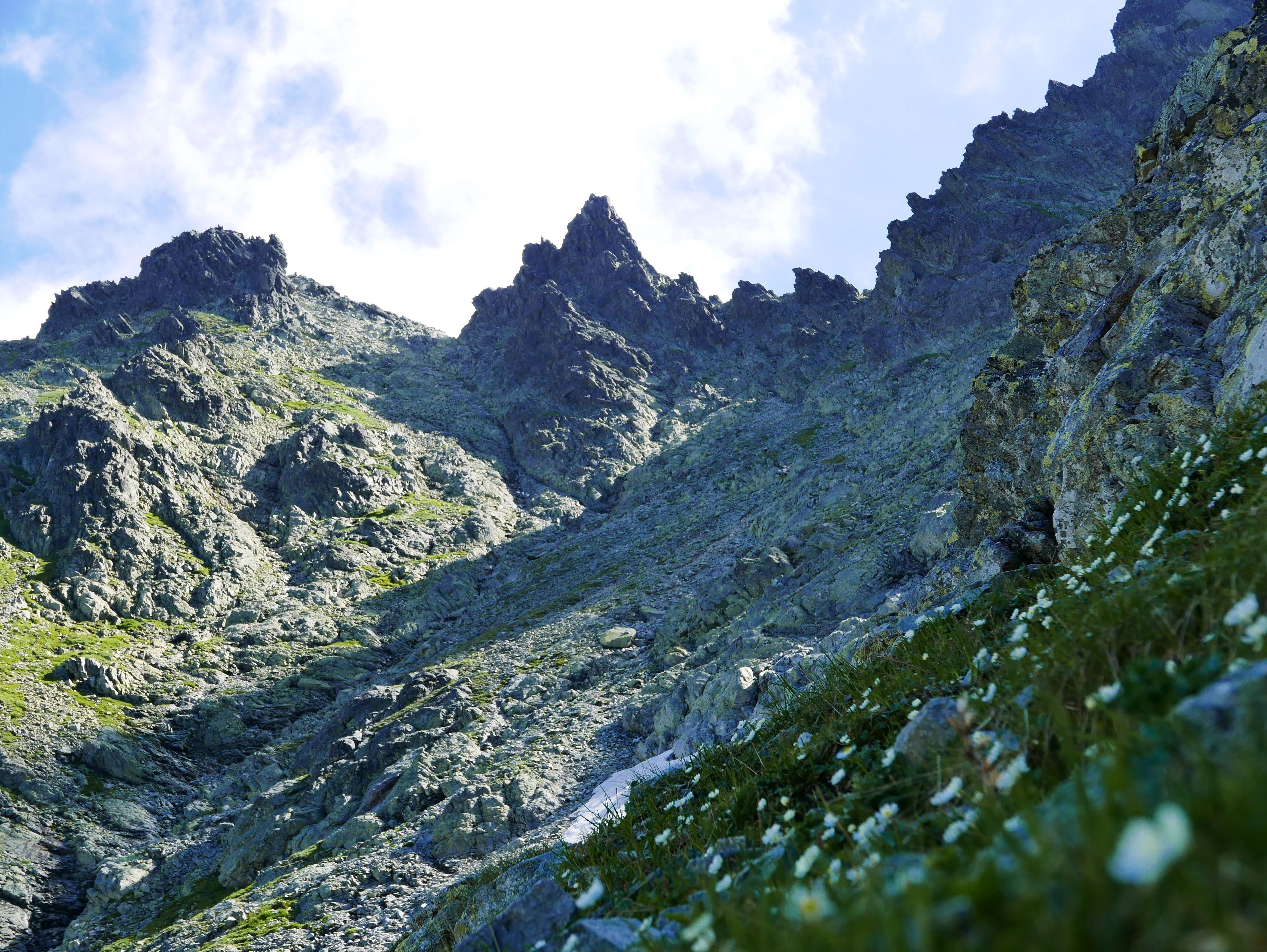 Tatry szlak na Rysy łańcuchy