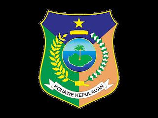 KABUPATEN KEPULAUAN KONAWE Free Vector Logo CDR, Ai, EPS, PNG