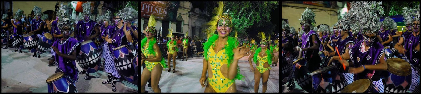 Desfile de Llamadas. Valores de Ansina.