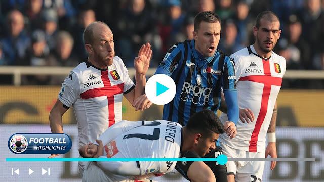 Atalanta vs Genoa – Highlights