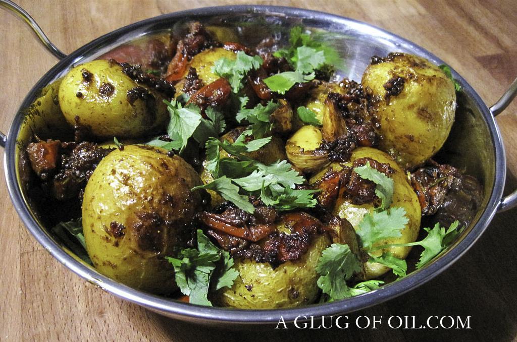 Bombay Roast Potatoes