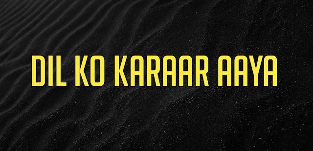 Dil Ko Karaar Aaya Flute Ringtone Download
