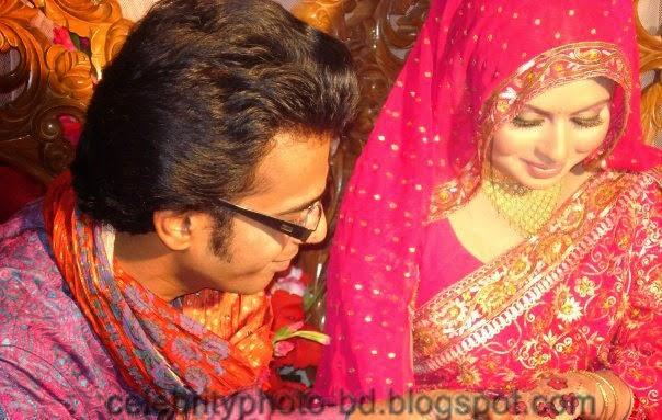 Bangladeshi Unseen Celebrity Wedding Moment's In Photos