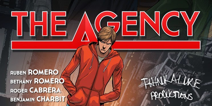 Romero Cabrera Charbit The Agency independent comic book