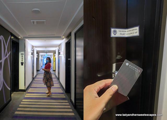 Pullman Hotel Dubai sanitized room