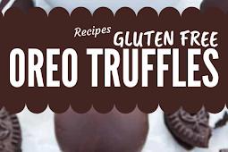 Gluten Free Oreo Truffles Recipe #glutenfree