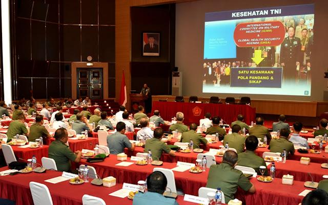 Panglima TNI : Dukungan dan Pelayanan Kesehatan Harus Sesuai Kebutuhan Prajurit TNI